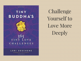 Tiny Love Challenges by Lori Deschene